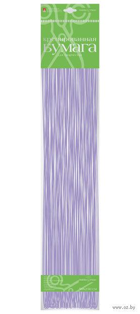 """Бумага креповая """"Перламутровая"""" (50х250 см; сиреневая) — фото, картинка"""