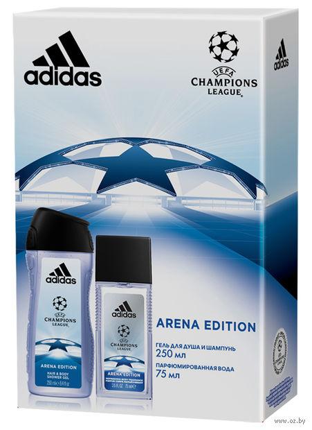"""Подарочный набор """"UEFA Arena Edition"""" (парфюмерная вода, гель для душа) — фото, картинка"""