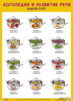 Какой суп? Плакат — фото, картинка
