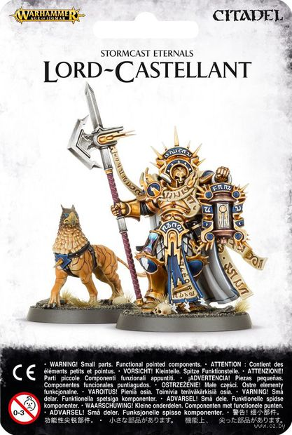 Warhammer Age of Sigmar. Stormcast Eternals. Lord-Castellant (96-14) — фото, картинка
