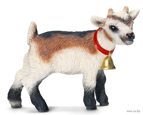 "Фигурка ""Коза домашняя. Детеныш"" (4 см) — фото, картинка"