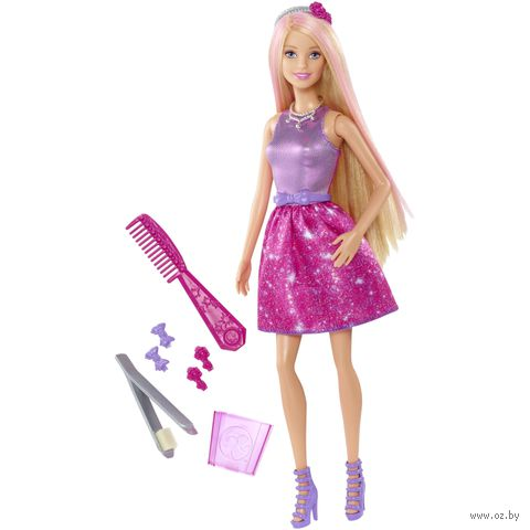 """Кукла """"Барби. Цветные пряди"""""""
