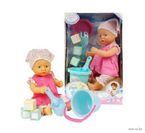 Пупс с игрушками для песочницы