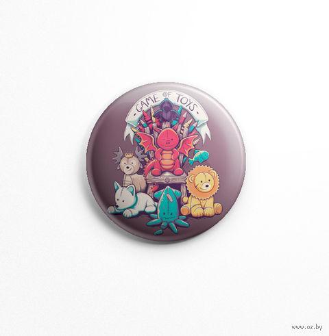 "Значок маленький ""Game of toys"" (арт. 097) — фото, картинка"