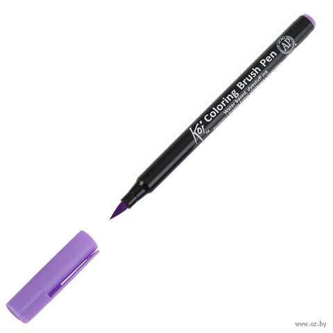 "Брашпен ""Koi Coloring Brush Pen"" (лавандовый) — фото, картинка"