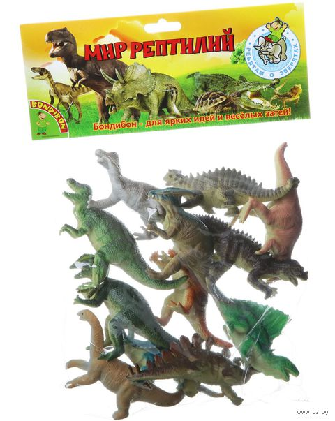 "Набор фигурок ""Динозавры"" (арт. ВВ1618) — фото, картинка"