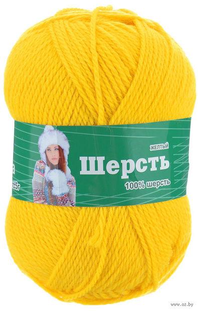 "Пряжа ""Астра. Wool"" (желтая; 100 г; 200 м) — фото, картинка"