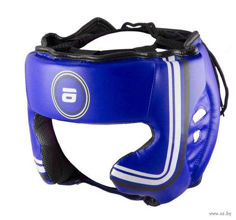 Шлем боксёрский LTB-16320 (XL; синий) — фото, картинка