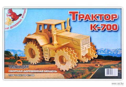 """Сборная деревянная модель """"Трактор К-700"""" — фото, картинка"""