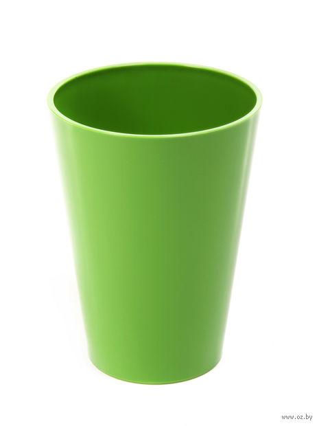 "Кашпо ""Lilia"" (12,5 см; зеленое) — фото, картинка"