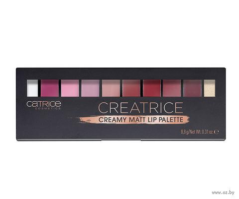 "Палетка для макияжа губ ""Creatrice. Creamy Matt Lip Palette"" (тон: 010) — фото, картинка"