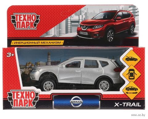 """Модель машины """"Nissan X-Trail"""" (арт. X-TRAIL-SL) — фото, картинка"""