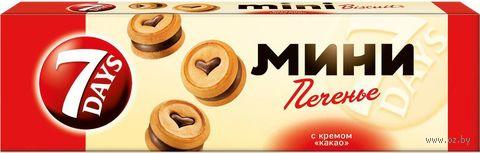 """Печенье """"7 Days. С шоколадным кремом"""" (100 г) — фото, картинка"""