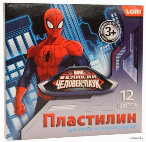 "Пластилин ""Marvel. Человек-паук"" (12 цветов)"