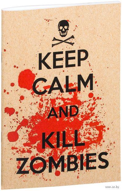 """Блокнот крафт """"Kill Zombies"""" А5 (134)"""