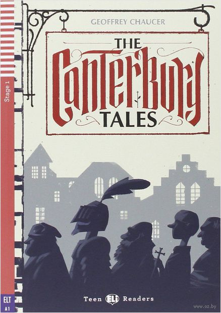 Teen Eli Readers. The Canterbury Tales (+CD) — фото, картинка
