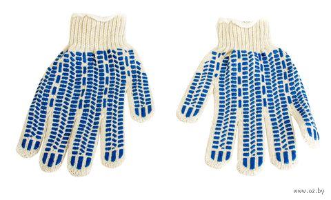 """Перчатки для садовых работ текстильные """"Протектор"""" (M; 1 пара) — фото, картинка"""