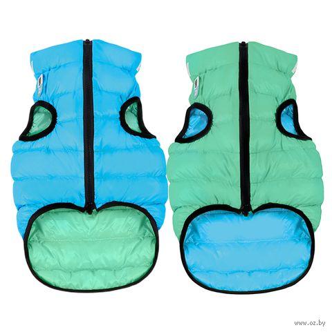 "Куртка ""Lumi"" (40 см; салатово-голубая) — фото, картинка"