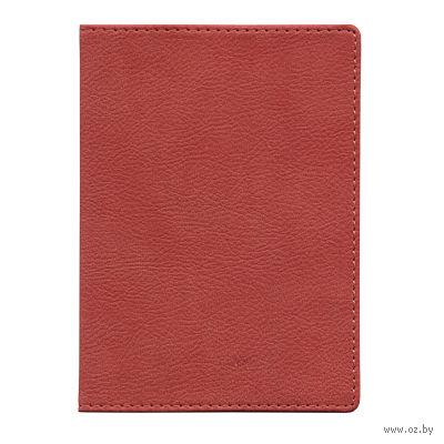 "Обложка для паспорта Time/System ""Aston"" (dark red)"
