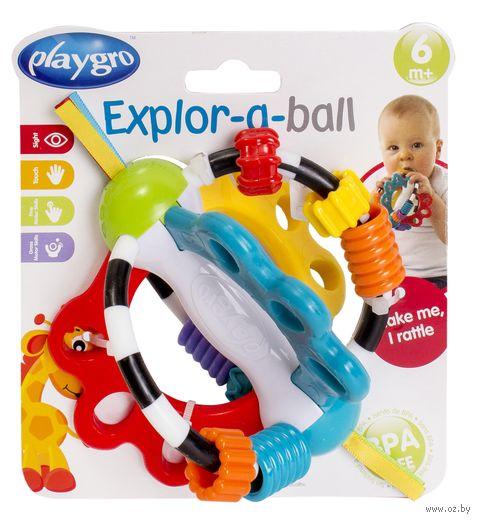 """Развивающая игрушка """"Мячик с ленточками"""""""