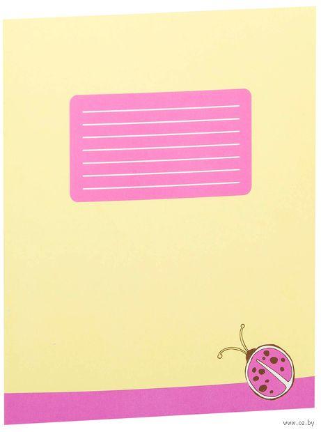 Тетрадь в крупную клетку (12 листов; арт. 001330) — фото, картинка