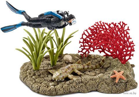 """Набор """"Риф под водой с дайвером"""""""