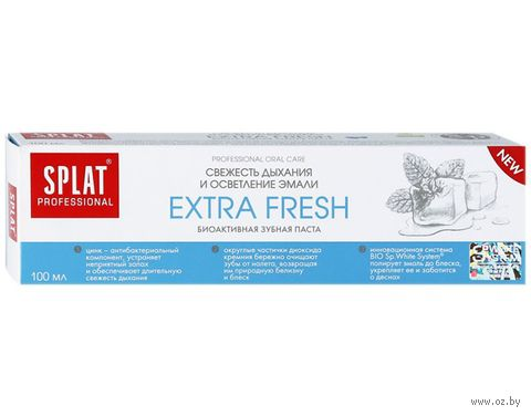 "Зубная паста ""Extra Fresh"" (100 мл) — фото, картинка"