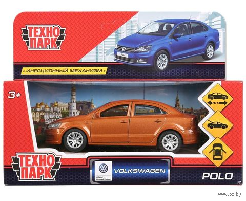 "Модель машины ""VW Polo"" (арт. POLO-M) — фото, картинка"