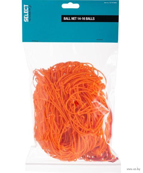 Сетка для переноса 16 мячей (оранжевая) — фото, картинка