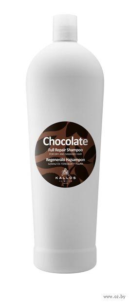 """Шампунь для волос """"Chocolate. Регенерирующий"""" (1 л) — фото, картинка"""
