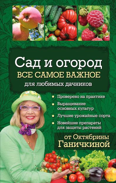 Сад и огород. Все самое важное для любимых дачников. Октябрина Ганичкина, Александр Ганичкин