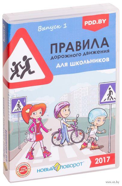 """Диск с учебной программой """"Правила дорожного движения для школьников"""" — фото, картинка"""