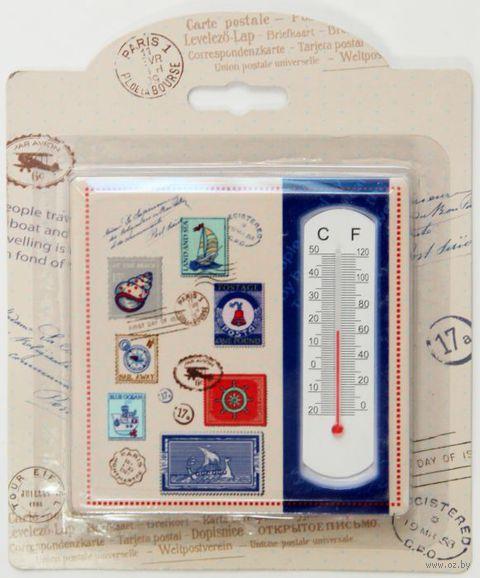 "Термометр ""Морские марки"" (арт. 40975) — фото, картинка"