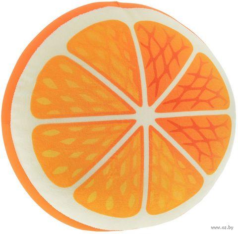 "Подушка-антистресс ""Апельсин"" (28 см) — фото, картинка"