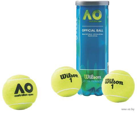 "Мячи для большого тенниса ""Australian Open"" (3 шт.; арт. WRT109800) — фото, картинка"
