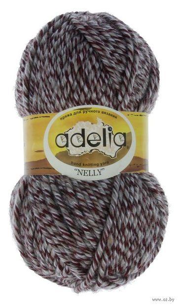 "Пряжа ""Adelia. Nelly №15"" (100 г; 100 м; меланж) — фото, картинка"