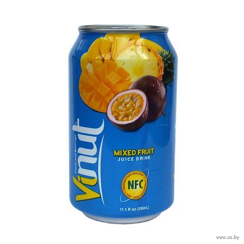"""Напиток """"Vinut. Фруктовый микс"""" (330 мл) — фото, картинка"""