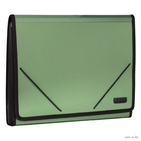 Папка-портфель (А4; зеленая) — фото, картинка