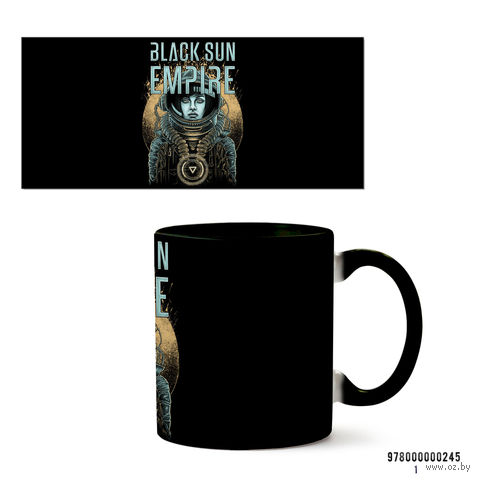 "Кружка ""Black Sun Empire"" (245, черная)"
