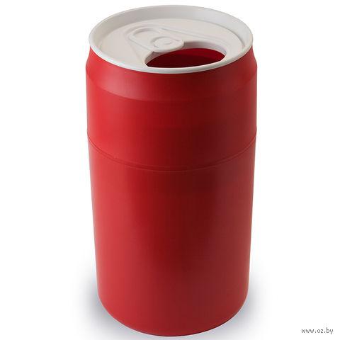 """Корзина для мусора """"Capsule"""" (красная)"""