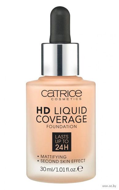 """Тональный крем для лица """"HD Liquid Coverage"""" (тон: 030, sand beige) — фото, картинка"""