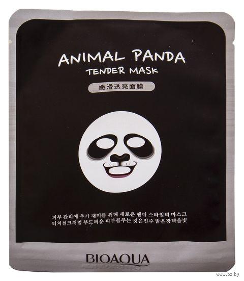 "Тканевая маска для лица ""Panda"" (30 г) — фото, картинка"