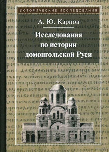 Исследования по истории домонгольской Руси — фото, картинка