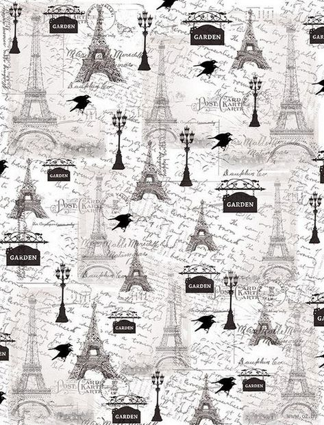 """Пленка-оверлей """"Ретро. Париж"""" (210х300 мм)"""