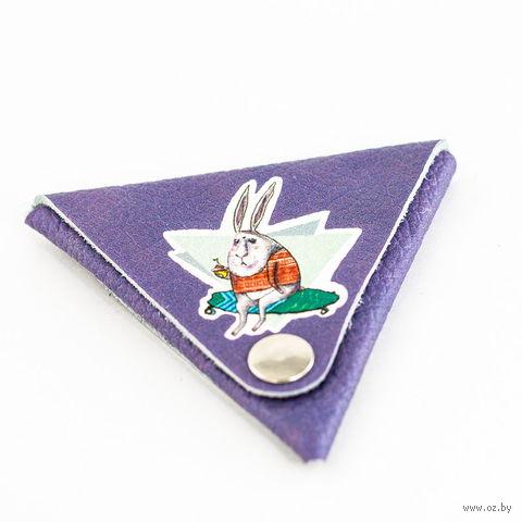 """Монетница треугольная """"Кролик"""""""