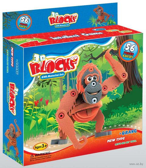 """Конструктор """"Орангутан"""" (56 деталей) — фото, картинка"""