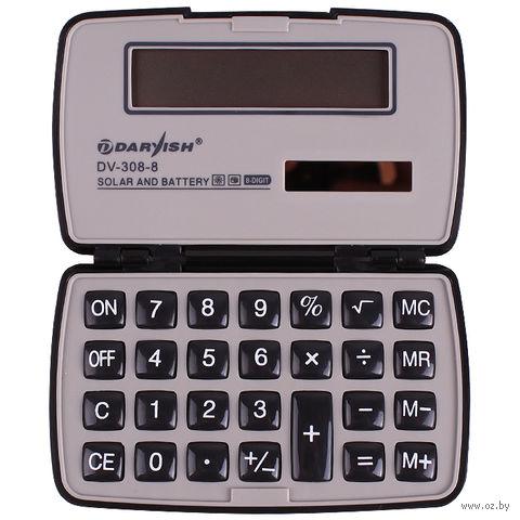 "Калькулятор карманный ""Darvish"" (8 разрядов; арт. DV-308-8) — фото, картинка"