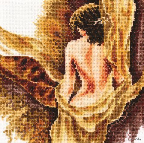 "Вышивка крестом ""Блики света"" (160х170 мм) — фото, картинка"