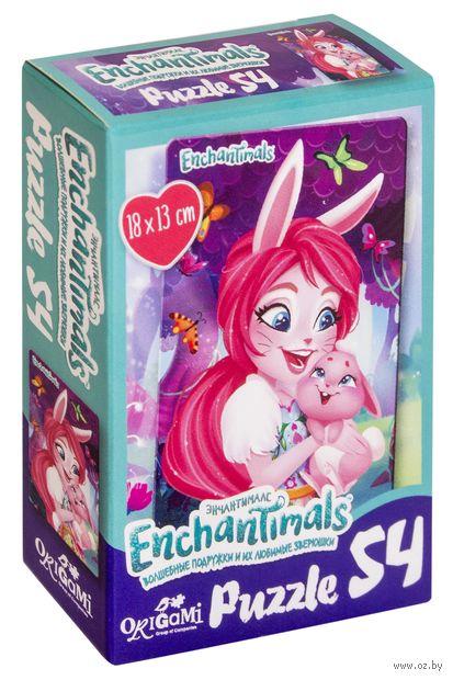 """Пазл mini """"Enchantimals"""" (54 элемента) — фото, картинка"""