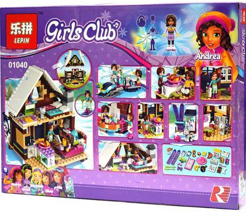 "Конструктор Girls Club ""Горнолыжный курорт. Шале"" — фото, картинка"